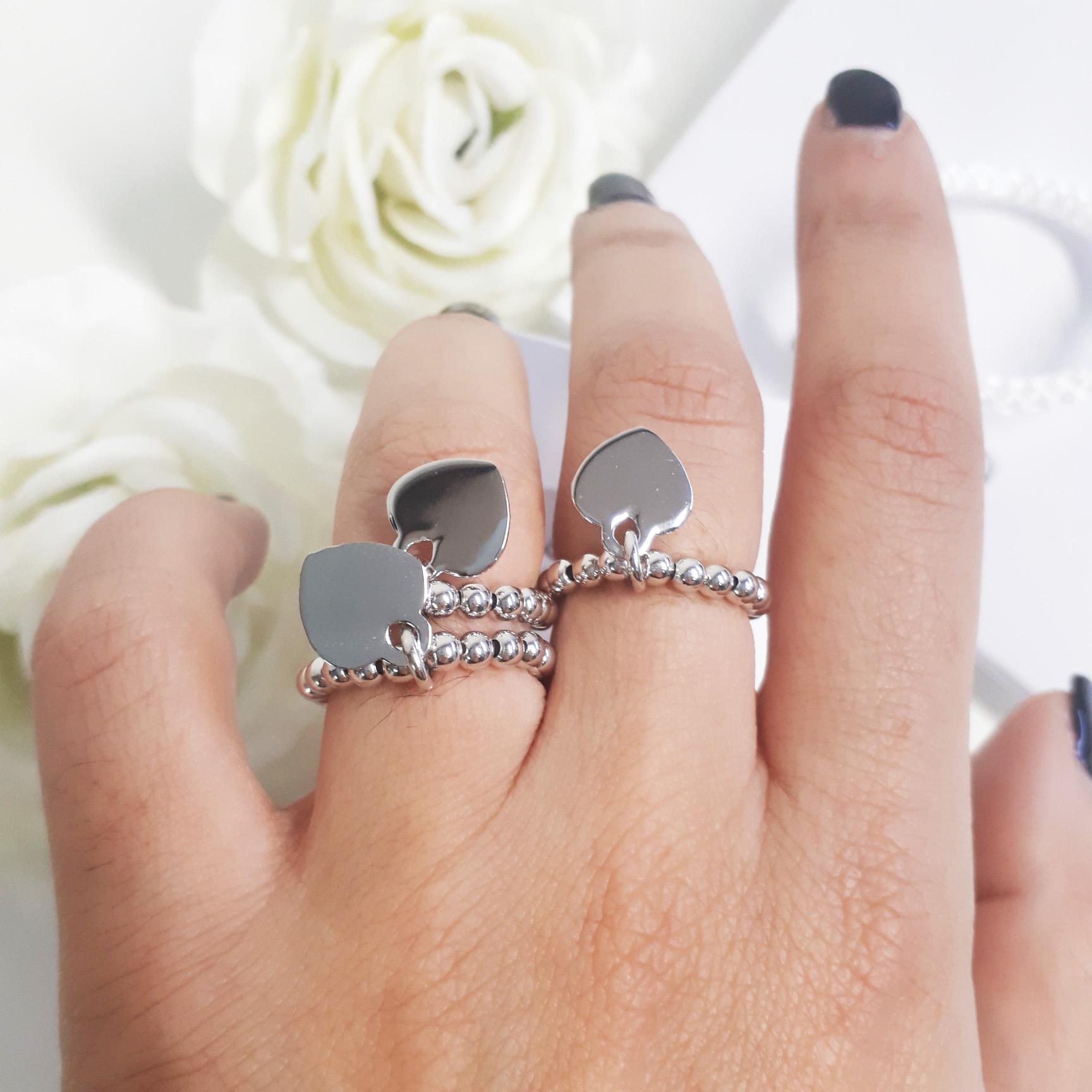 anello palline pandora
